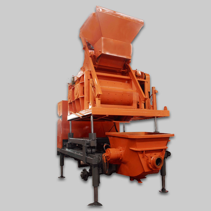V8 Truck Mounted Forced Concrete Mixer P