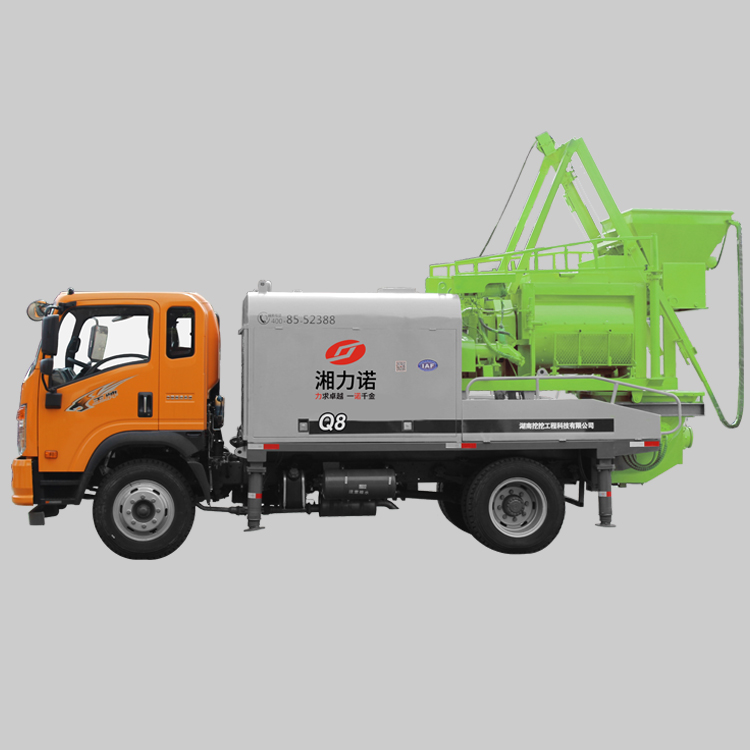 Q7 Truck Mounted Concrete Mixer Pump