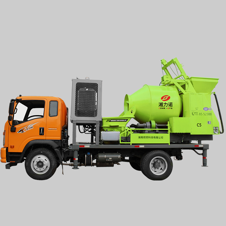 C5 Truck Mounted Concrete Mixer Pump